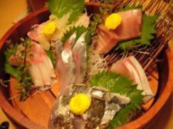 讃岐茶屋(刺身盛り合わせ)