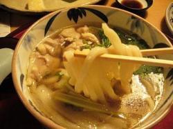 讃岐茶屋(かしわ南蛮麺)