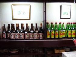 スナック(酒陳列)