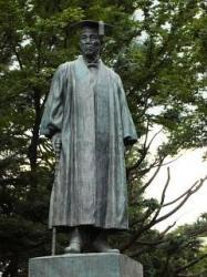 早稲田界隈(大隈重信候1)
