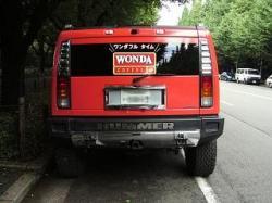 WONDA(ハマー後ろ)