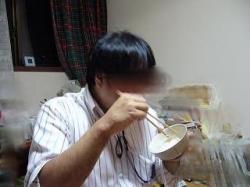 白米を食べる達人