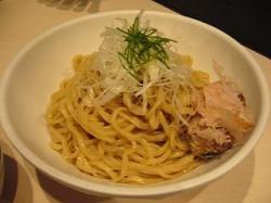 ひるがお(限定煮干し塩つけ麺1)