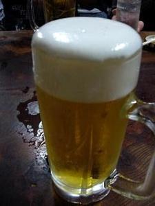 斉藤酒場(生ビール)