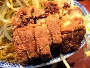 暖々(大ラーメン野菜少し多めカラメニンニク肉アップ1)