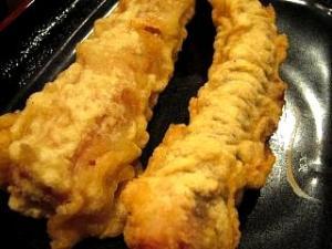 東京麺通団(ゲソ天、海老竹天)