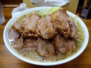 麺徳(チャーシュー麺肉まし1)