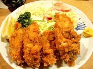 三州屋(牡蛎フライ1)