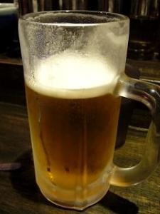 山頭火(生ビール)