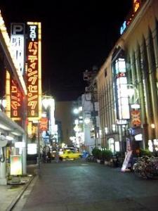 歌舞伎町(夜景1)