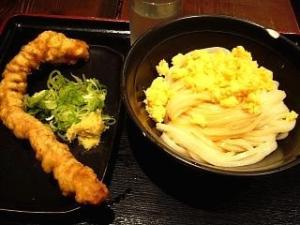 東京麺通団(ゲソ天と冷や玉)
