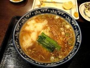 けんけん(海老ワンタン麺2)