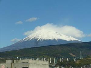 新幹線(富士山)