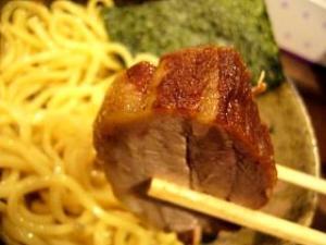 椿(つけ麺・チャーシュー2)