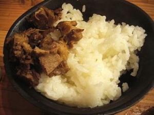 武藤製麺所(チャーシューご飯)