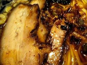 めじろ(煮干し醤油チャーシューアップ)