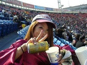 横浜スタジアム(売り子)