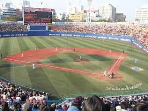 横浜スタジアム(試合終了)