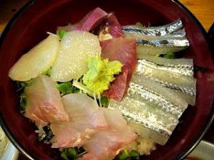 徳多和良(ランチ・刺身丼2)