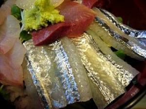 徳多和良(ランチ・刺身丼部分アップ3)