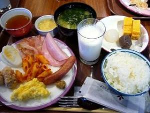 バイキング(朝食)