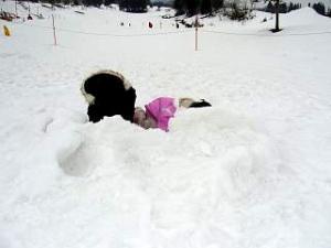 雪景色(その6 トーチカ1)