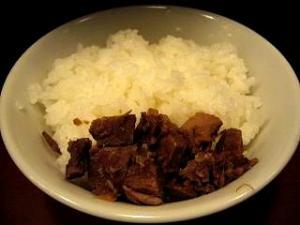 大喜(釜揚げカレーつけ麺 小ご飯)