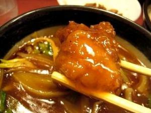 大喜(釜揚げカレーつけ麺 スパイシー鳥唐)