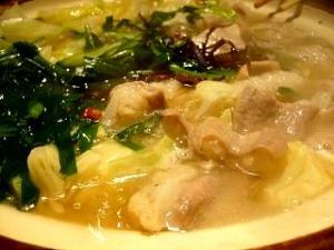 鬼吉(モツ鍋 鍋 その2)