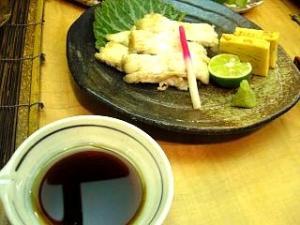 とき(鰻の白焼き全体)