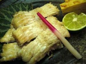 とき(鰻の白焼き1)