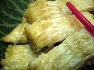 とき(鰻の白焼き2)