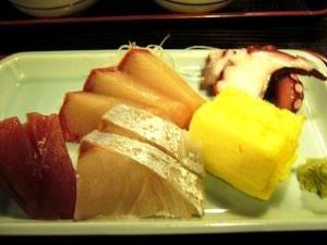 魚や(刺身定食)