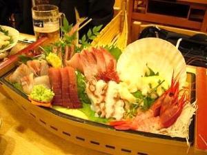 魚や一丁(舟盛り)