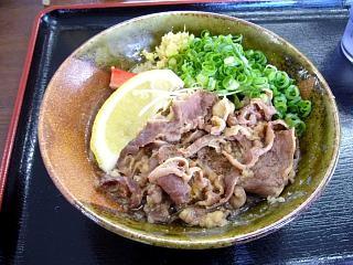 百こ満(肉ぶっかけ2)