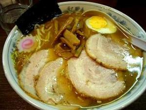 大勝軒十五夜(チャーシュー麺大盛り)