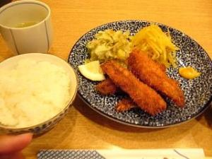 中島(鰯フライ定食)
