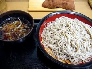 富士蕎麦(鴨汁つけ蕎麦)