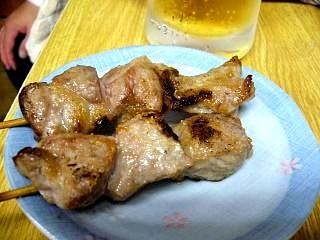 西口焼きとん(カシラ)