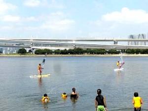 ウィンドサーフィン(2人 水上)
