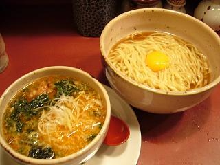 大喜(釜揚げつけ麺 全体)