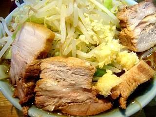 ラーメン髭(チャーシュー麺 アップ)