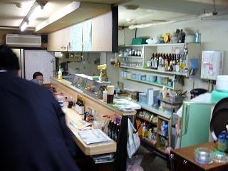 新宿の小料理屋(店内)