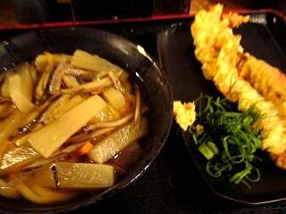 東京麺通団(しっぽく、ゲソ天)
