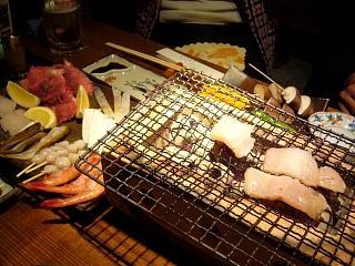 魚喰呑人欒(焼き物1)