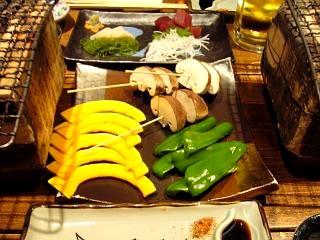 魚喰呑人欒(焼き物2)