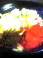 麺通団(夏腰 全体混ぜる前)