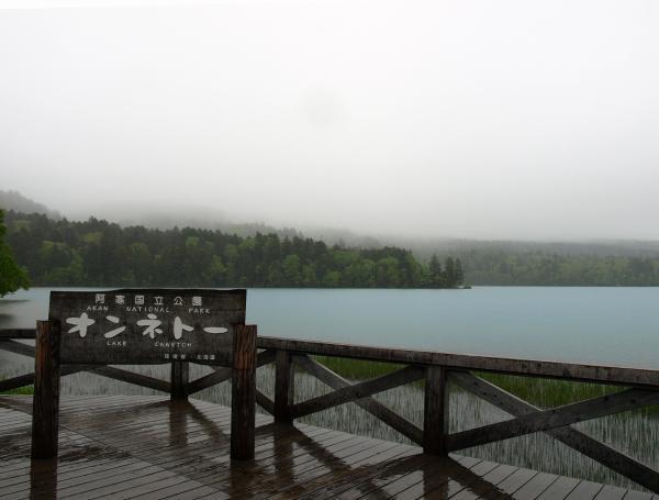 雨と霧で。。。