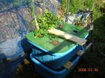 自作 水気耕栽培装置