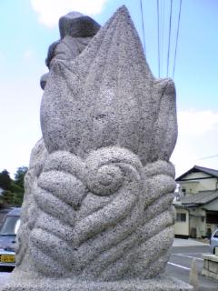 高嶋神社 2 狛犬